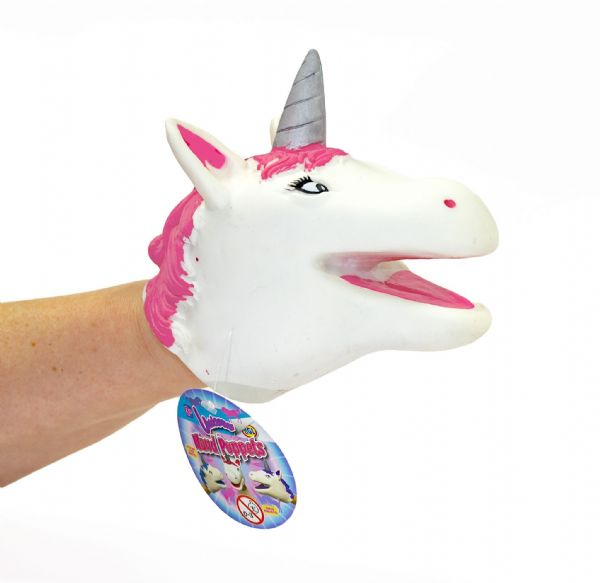 Kids Unicorn Hand Puppets for Girls Novelty Magical Birthday & Xmas Toy Present & Gift